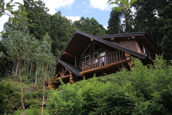 Log house in beautiful countryside - Higashiyoshino - House