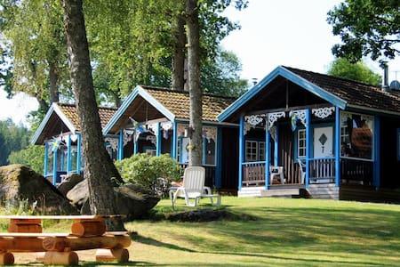 Swedish Cottage at the lake - Ulricehamn - 통나무집