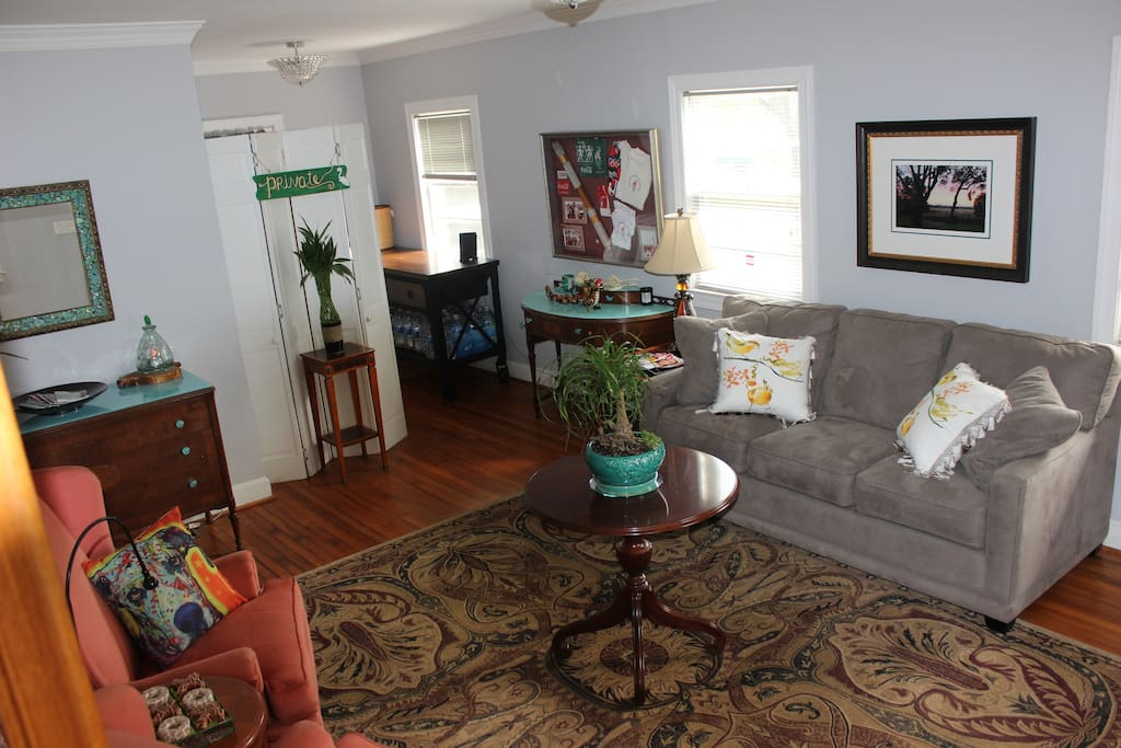 Front room shared with both units