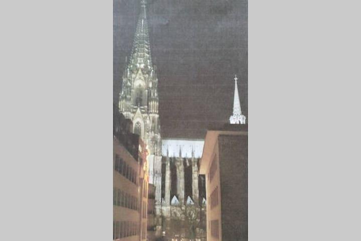 Übernachtung am Kölner Dom!