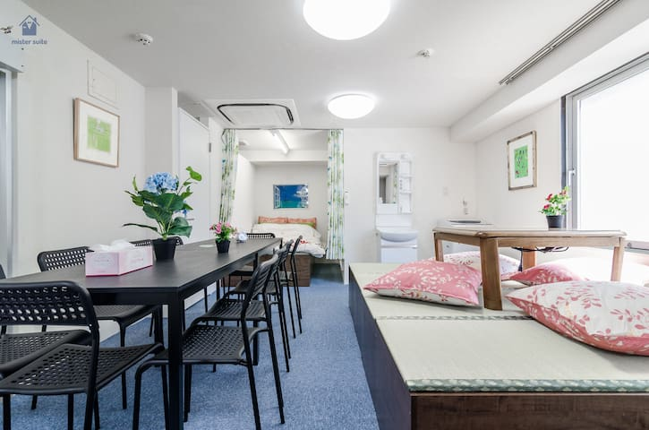 50㎡-for group|1min Shinjuku Prince Hotel|MAX7-WiFi - Shinjuku-ku - Apartamento