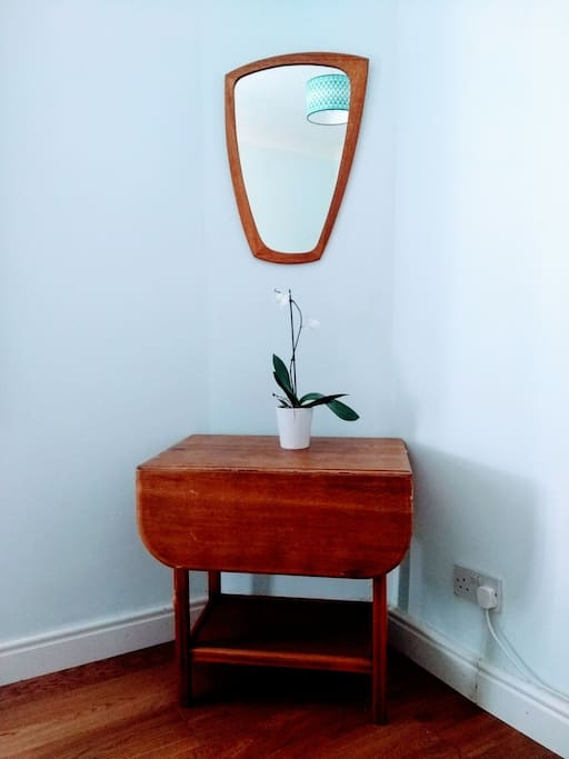 Small table and mirror