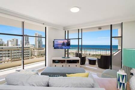 Luxury Broadbeach Beach Front - Direct ocean views - 布罗德海滩(Broadbeach) - 公寓