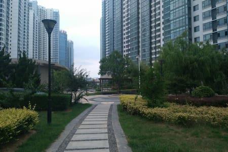 海滨度假公寓,超大四卧室,享受安静舒适休闲的假期!! - YanTai - Daire
