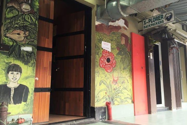 PRIVATE DOUBLE ROOM  (shared bathroom)o