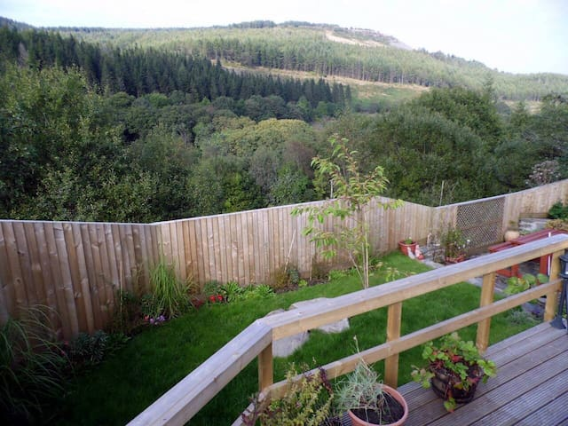 Afan Valley Escapes, The Peak, Valley Views