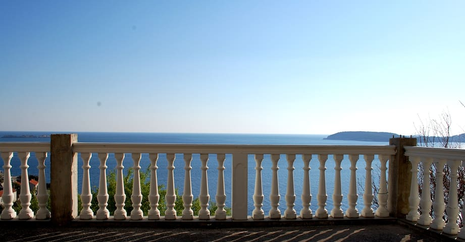 Apartment with stunning sea view - Dubrovnik - Appartement