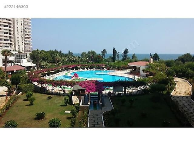 GORGEOUS VİEW, SEA, POOL, BEACH - Erdemli - Service appartement