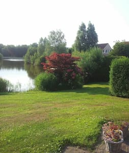 Kleines Haus am See - Vlagtwedde - Apartament