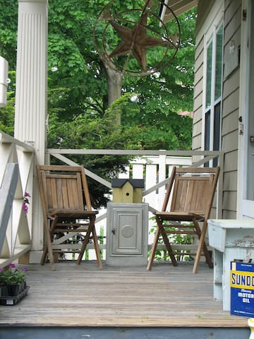 Front porch for sitting