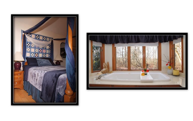 -ROMANTIC COUPLES RETREAT- Relax in Jacuzzi for 2!