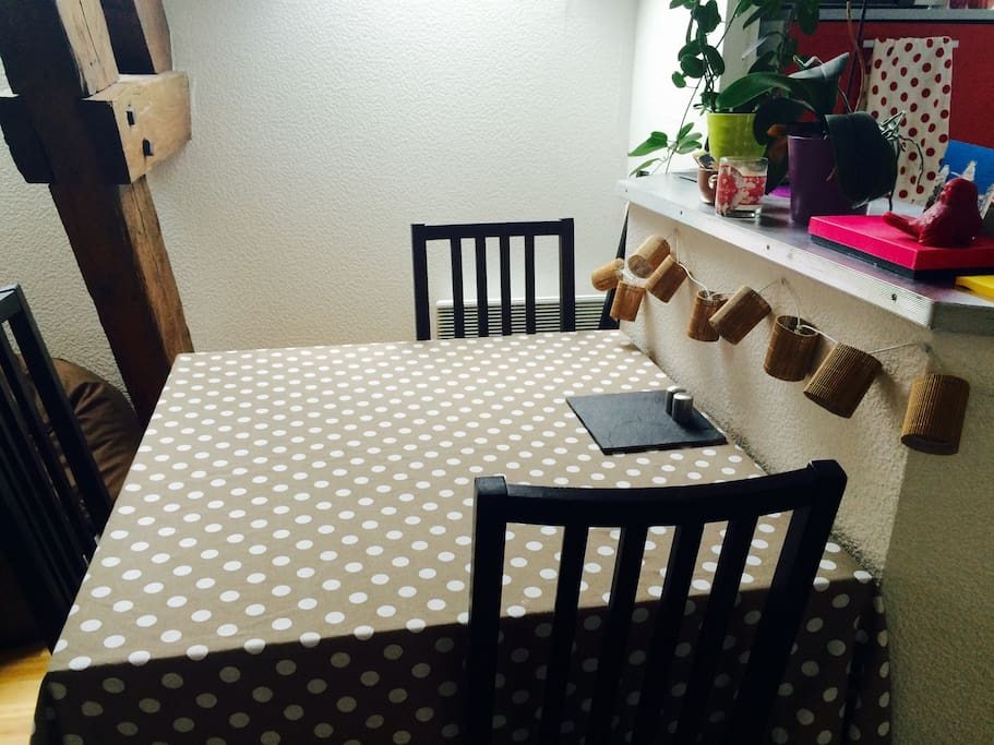 Coin repas / dining table