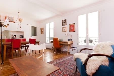 60m2 eclectic brand new flat !!!!! - Paris