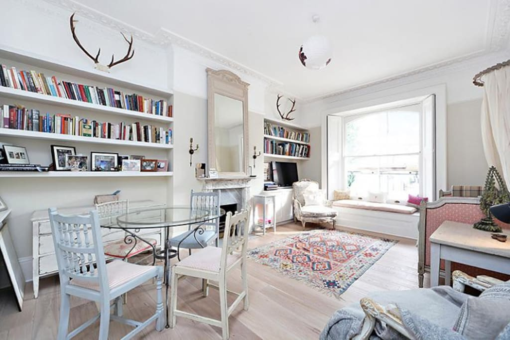 Romantic Notting Hill Boho Flat Apartments For Rent In