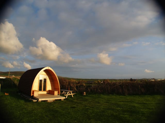 Pilgrim Pod Accommodation (Sea Field)