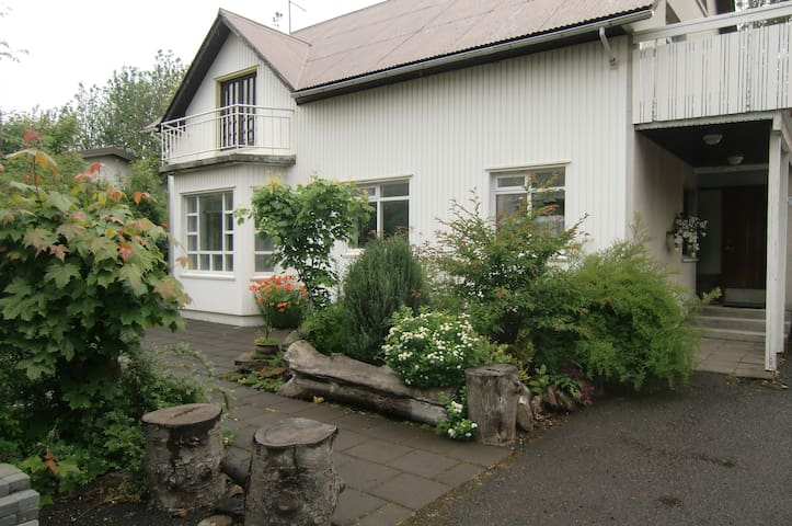 Private room in Selfoss - Selfoss - Ev