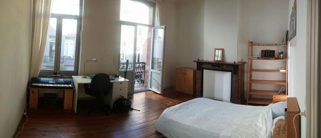 Superbe chambre à Flagey - Ixelles - Casa