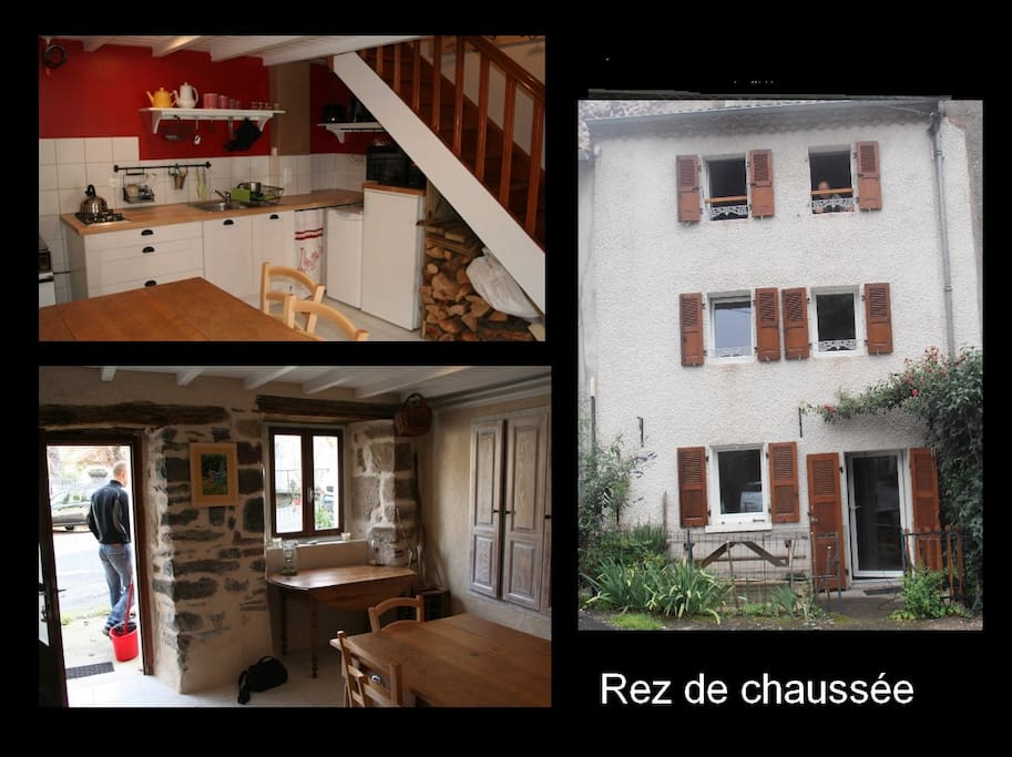 pretty little house houses for rent in prades auvergne. Black Bedroom Furniture Sets. Home Design Ideas