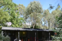 Welcome to your self-contained cabin less than 100 metres from the stunning Murray River.