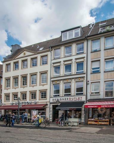 Top 2-Zimmerwohnung/K/B 3.E Rathaus - Düsseldorf - Apartament
