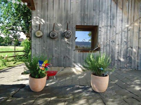 ❤️iges Studio im Landhausstil (40 qm2) & Sitzplatz