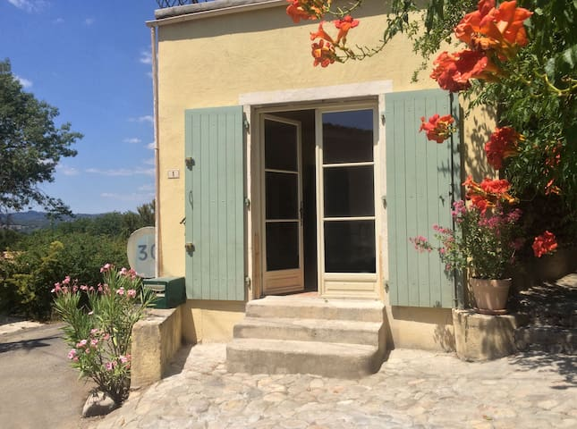 Authentic stone house apartment - Massillargues-Attuech - Lejlighed