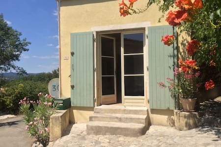 Authentic stone house apartment - Massillargues-Attuech - Huoneisto