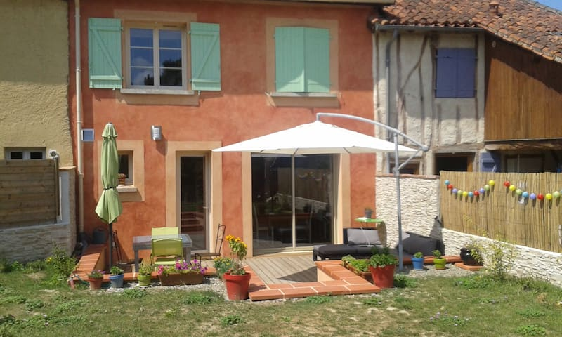 Petite maison de ville avec jardin - Marciac - Casa