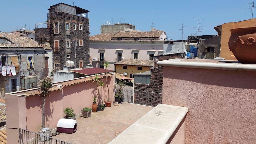 Appartamento centrale-condizionato - Catania - Apartemen