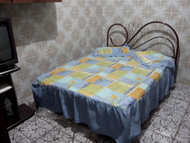 Quiet Village in Salvador Center: Double Room