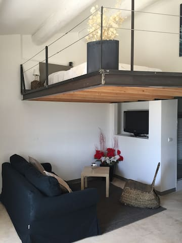 Le loft de la maison d'Albert - Cadenet - Bed & Breakfast