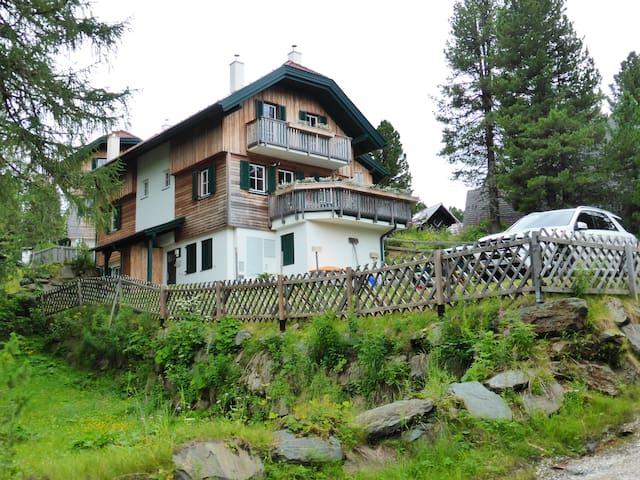 Apartmán v klidném  prostředí hor - Turracherhöhe - Alpstuga