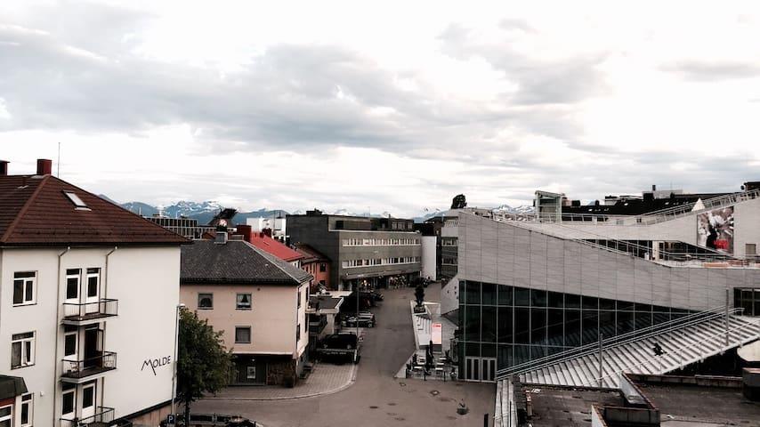 Leilighet midt i sentrum av Molde
