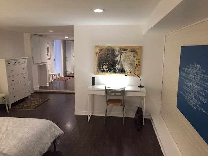 Studio Apartment near the heart of downtown TO.