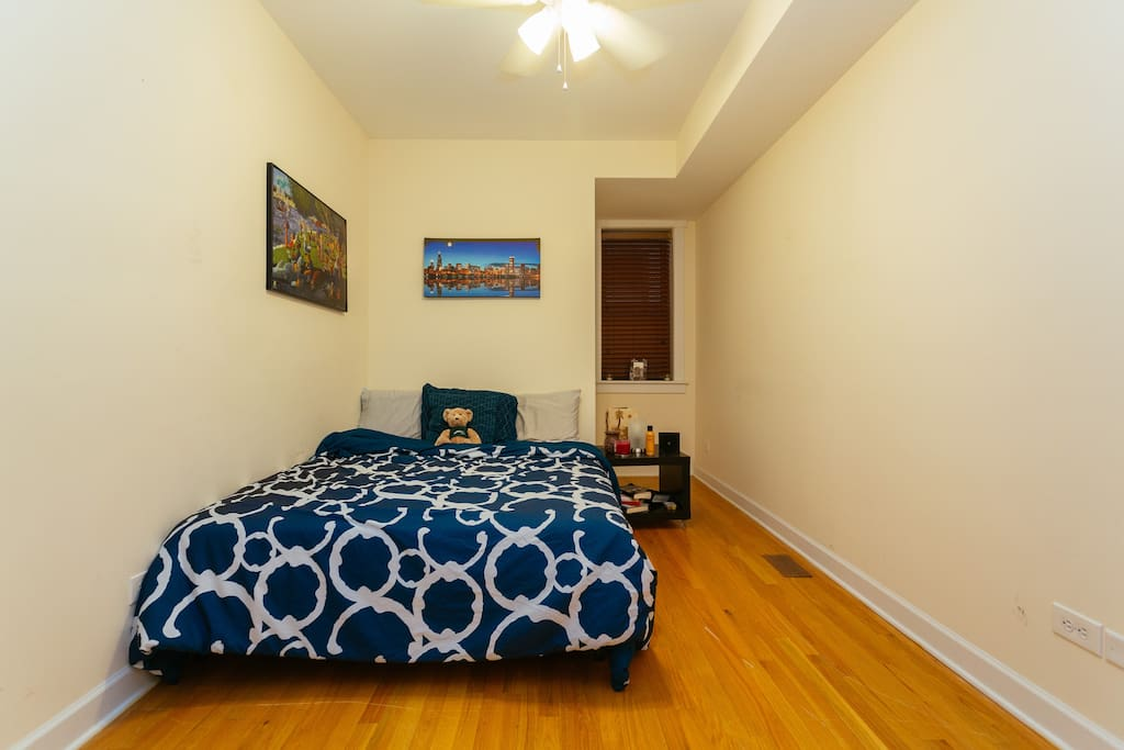 This is the cozy guest room available for use!