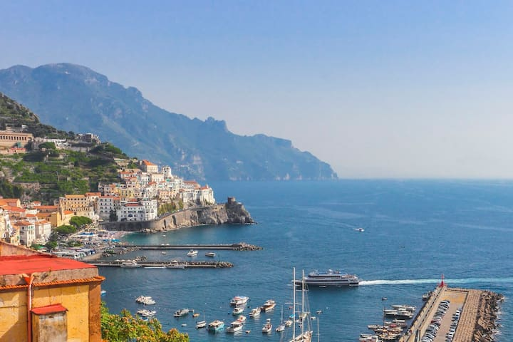 Best sea view in Amalfi! 2 bedrooms, wifi, air-con - Amalfi