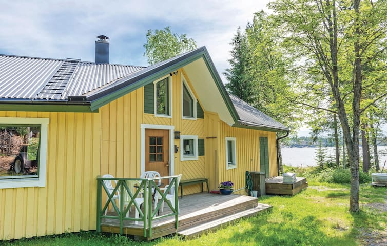 Holiday cottage with 1 bedroom on 57m² in Lögdeå