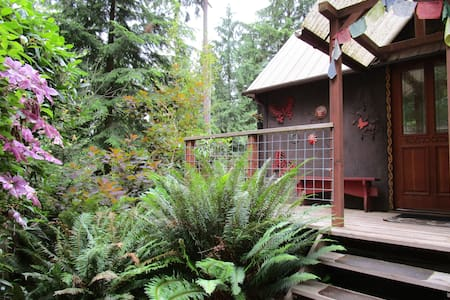 Unique Secluded Tiny House Caravan in the Forest - Freeland - Cabin