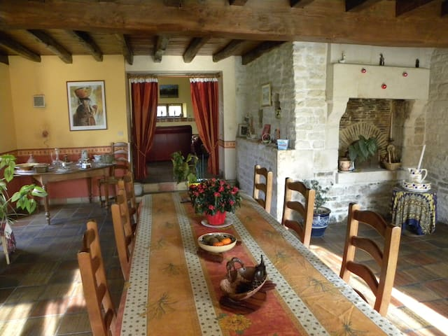chambres d'hotes  marais poitevin - Niort - Bed & Breakfast