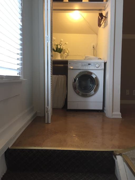 Washer (but no dryer)