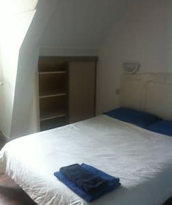 Chambre C 2 pers. manoir écossais - Saint-Jouan-des-Guérets - Bed & Breakfast