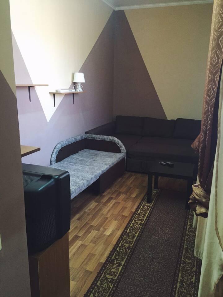 Уютная комната в центре города