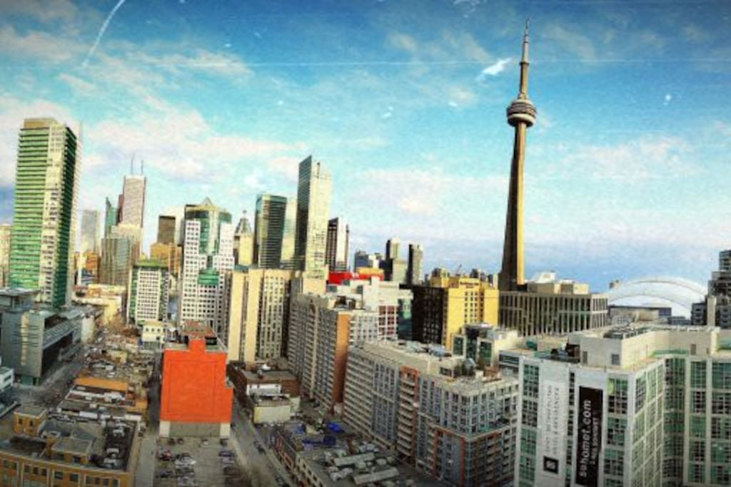 Grand View of Downtown Toronto (Facing South East)