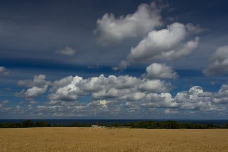 Panorama havudsigt udenfor Gudhjem - Gudhjem - Cabaña