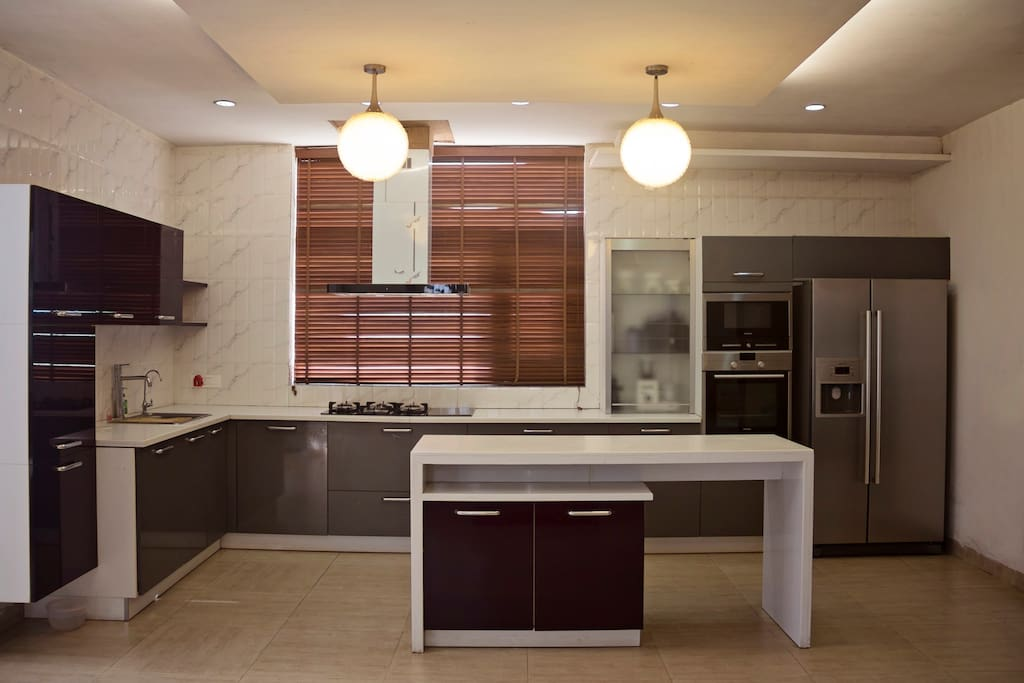 Fully modeled kitchen from germany