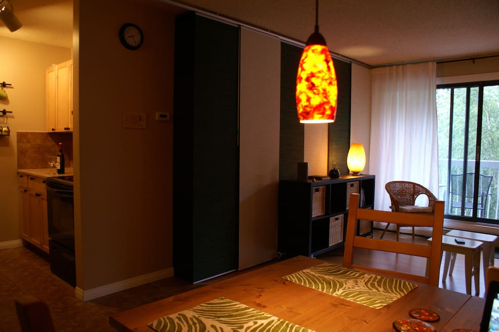 You'll love the warm ambiance!