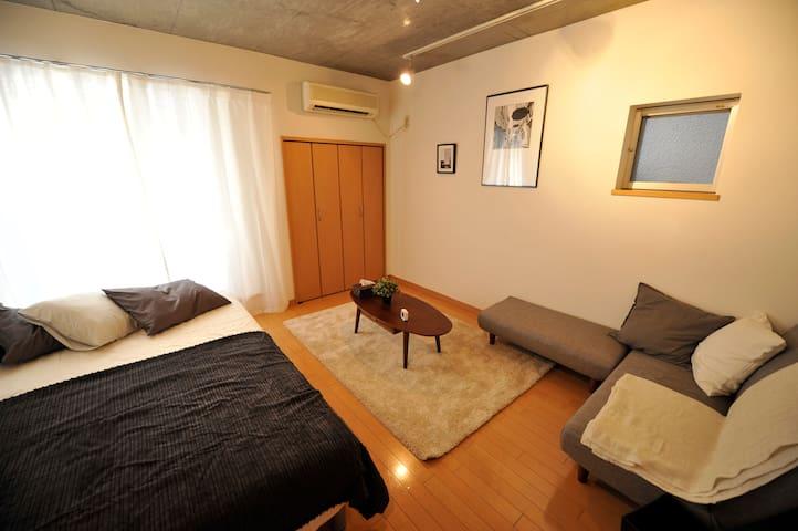 12mins-WalK  SHIBUYA!stylish room! - Shibuya - Apartamento