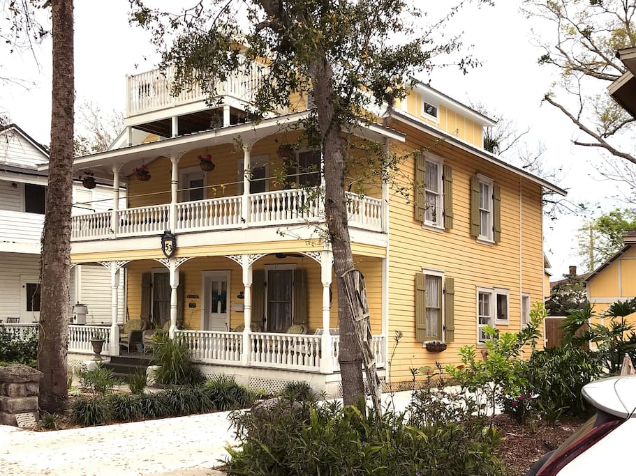 Historic 2 Bedroom Downtown Apt Just Park Walk Apartments For Rent In St Augustine