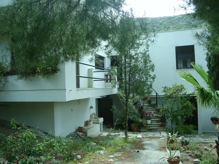 House near sea & Athens Airport
