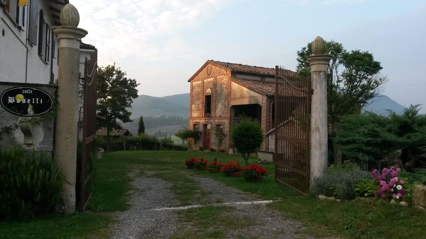 Corte Boselli, antica casa contadina sulle colline - Neviano degli Arduini - Casa